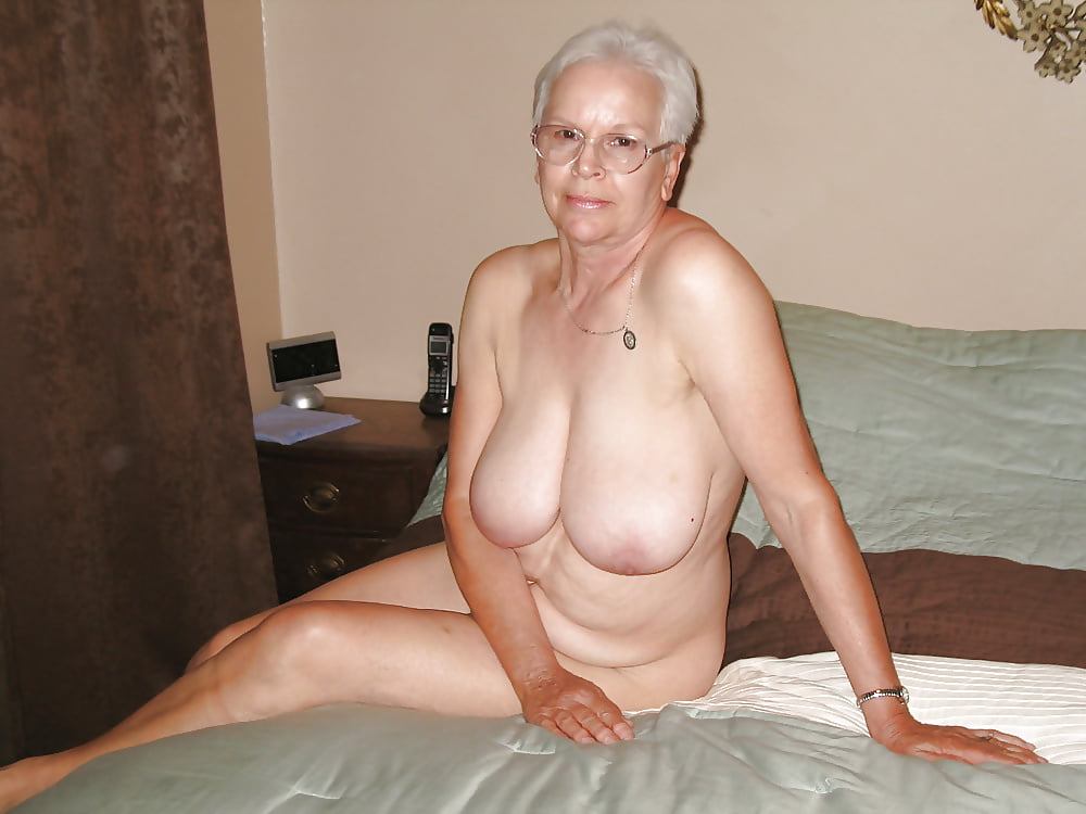 Naked worn out plain granny