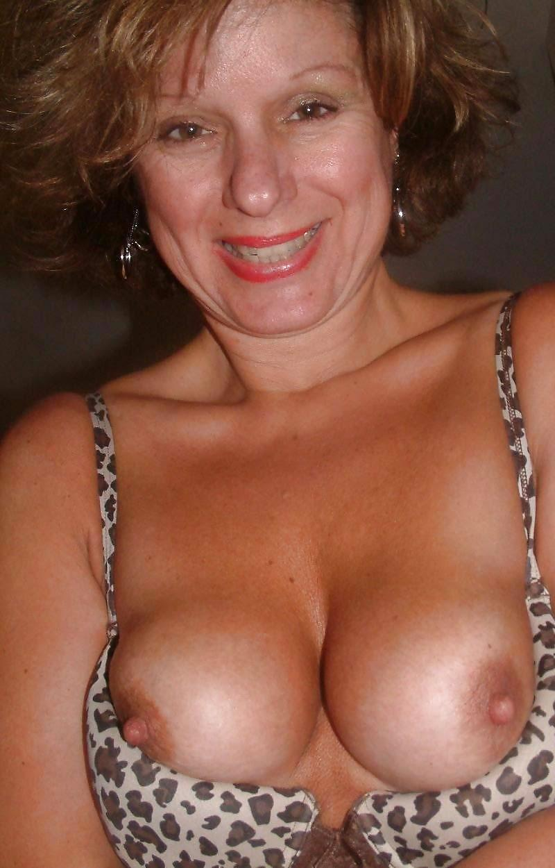 You huge tit mature topless