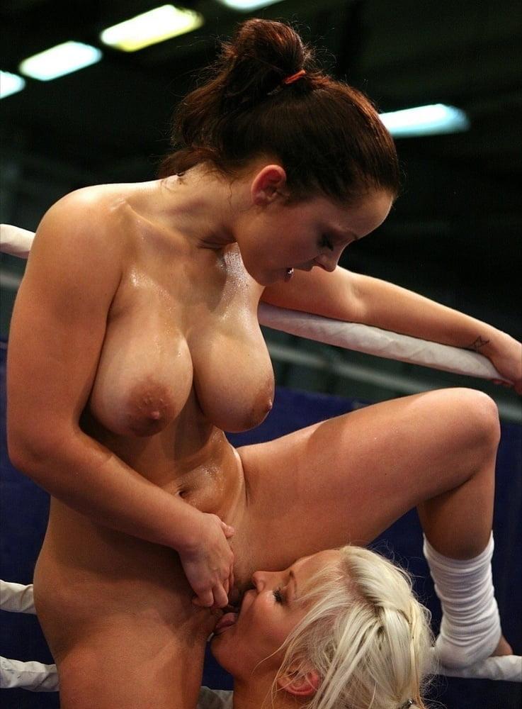 Dirty lesbian wrestling