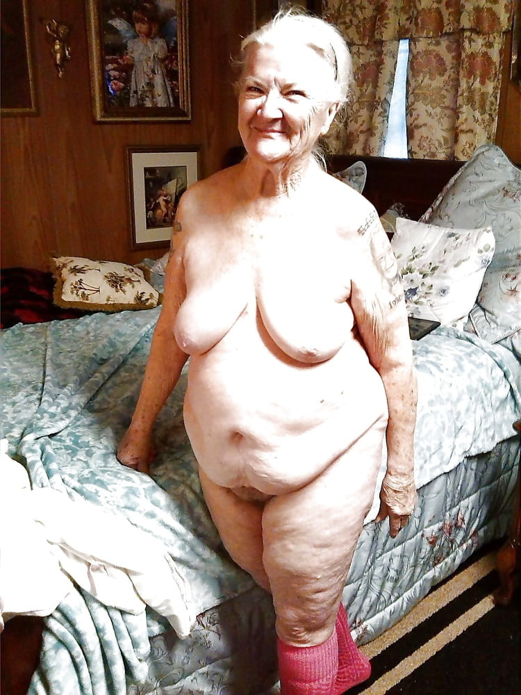 Old fat nude grannies