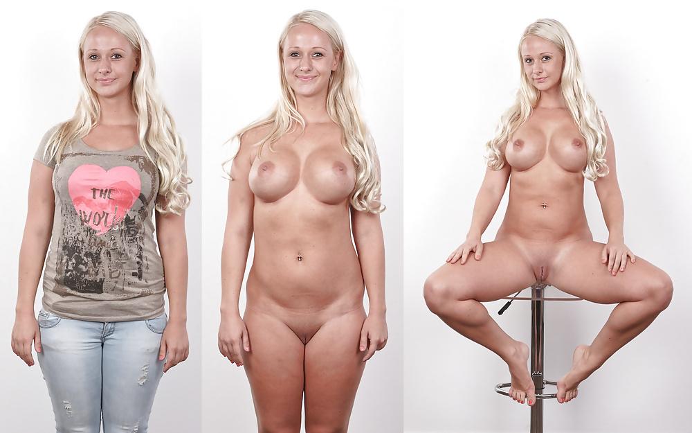 Naked blondes femdom