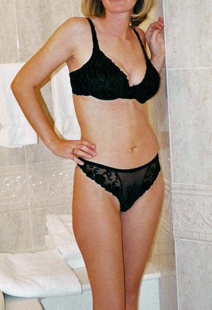 Sexy aunty in bathroom-6978