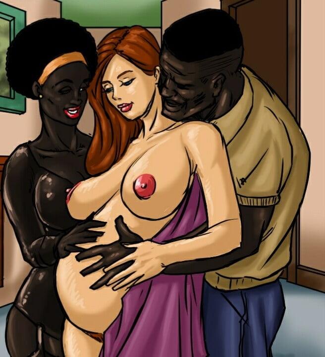 Iterratial forced wife cartoon