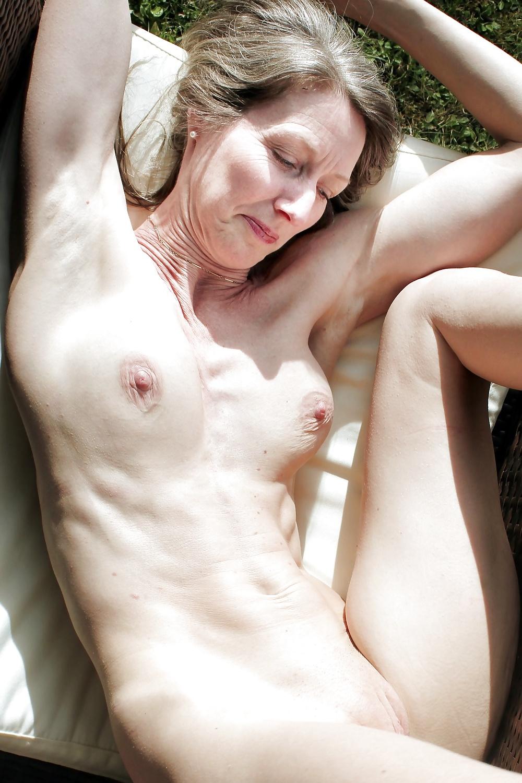 Flat Chested Mature Women