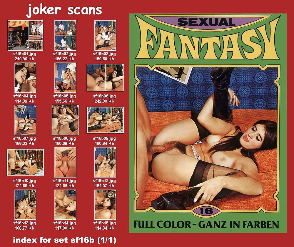 Male sexual fantasies