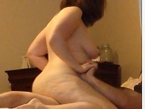Hidden tits bbw
