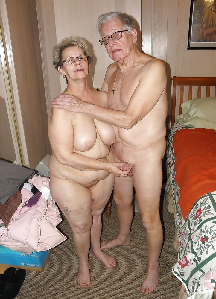 Very old naked couples