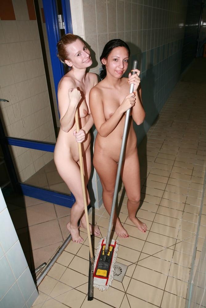 Nudists around the pool - 109 Pics
