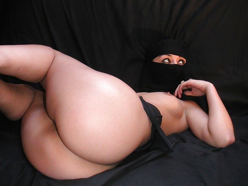 Big ass arab saudi girl