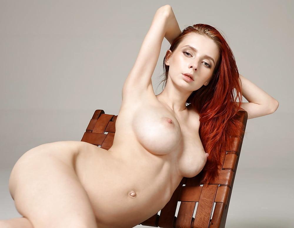 Helga Grey In Redheaded Lingerie Model Gets Naked Hottestleakedbabes 1