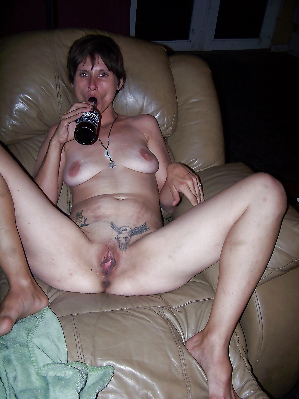 Drunk old slut 10