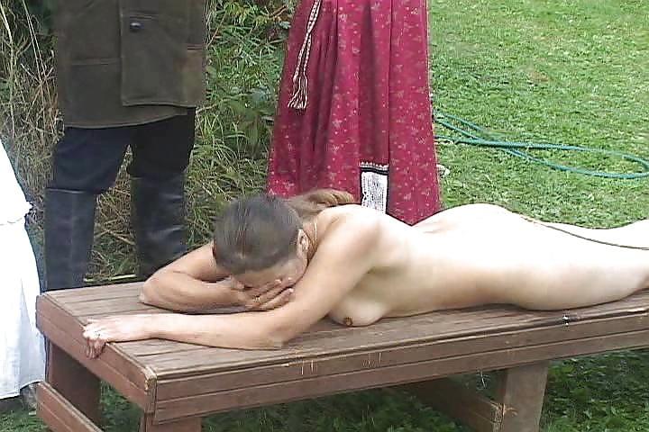 Наказание розгой видео