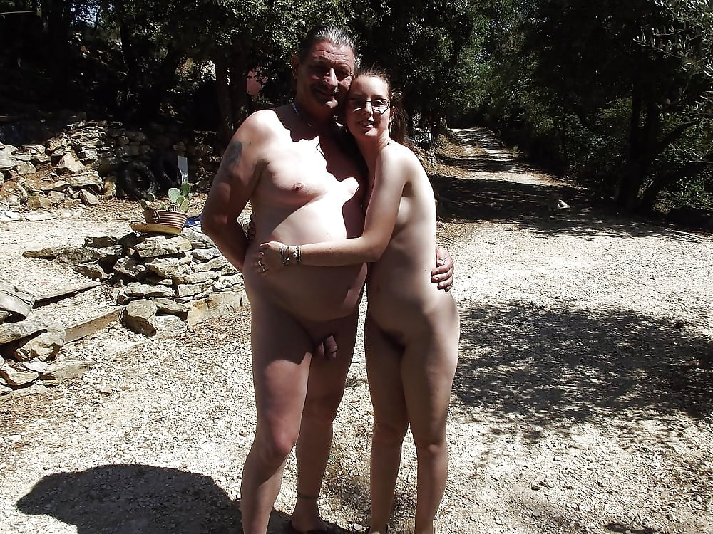 Ass nude beach father daughter possible