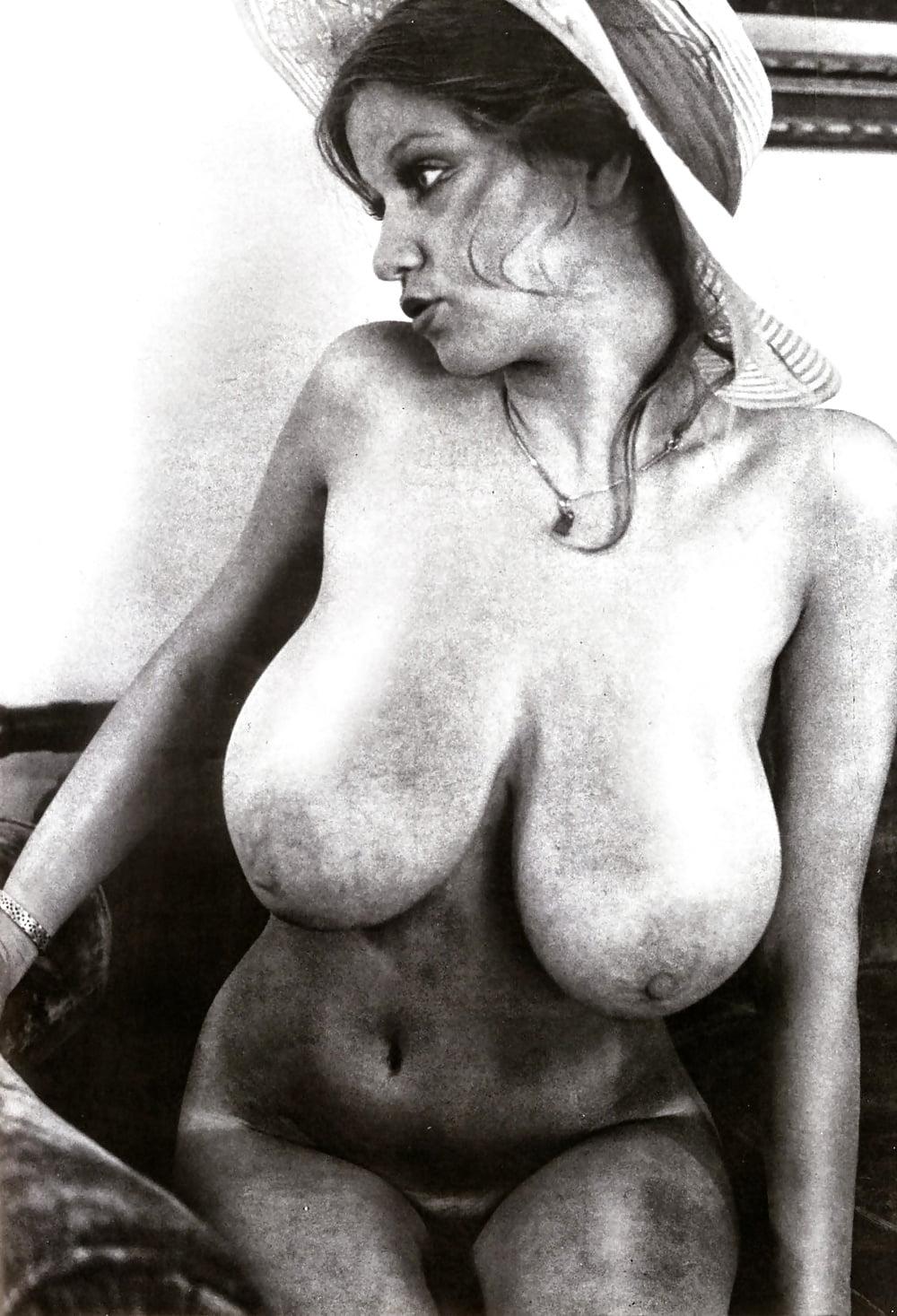 Retro big tits hairy pussy