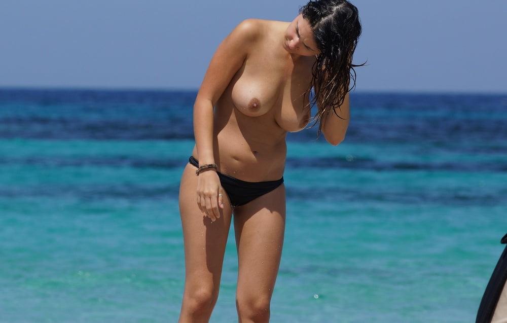 Brueste am Strand