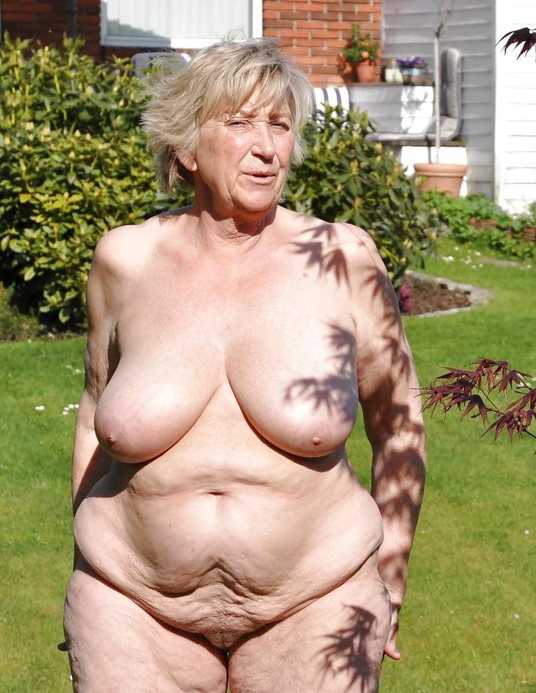 Hot Granny Nude Beach