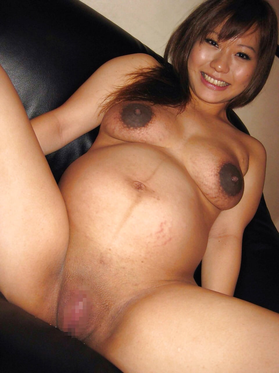 Pregnant Asian Hoe Picked Up For A Fuck