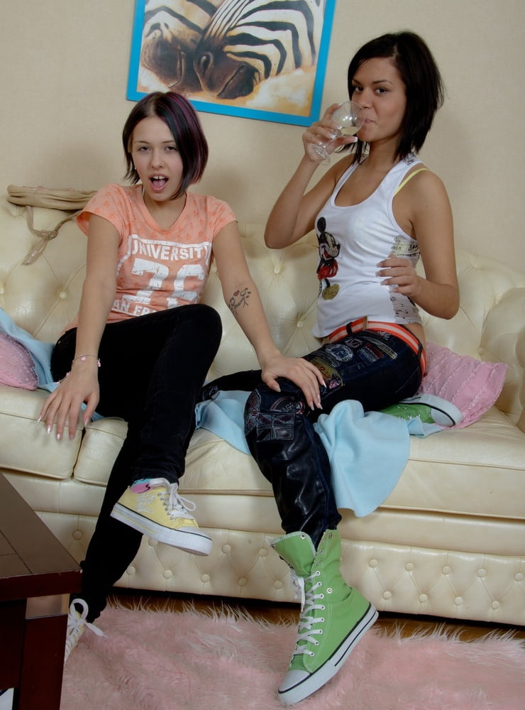 Lesbian anal fun