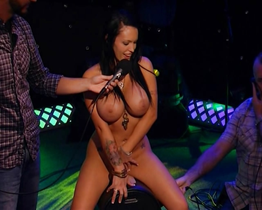 Girl naked howard stern