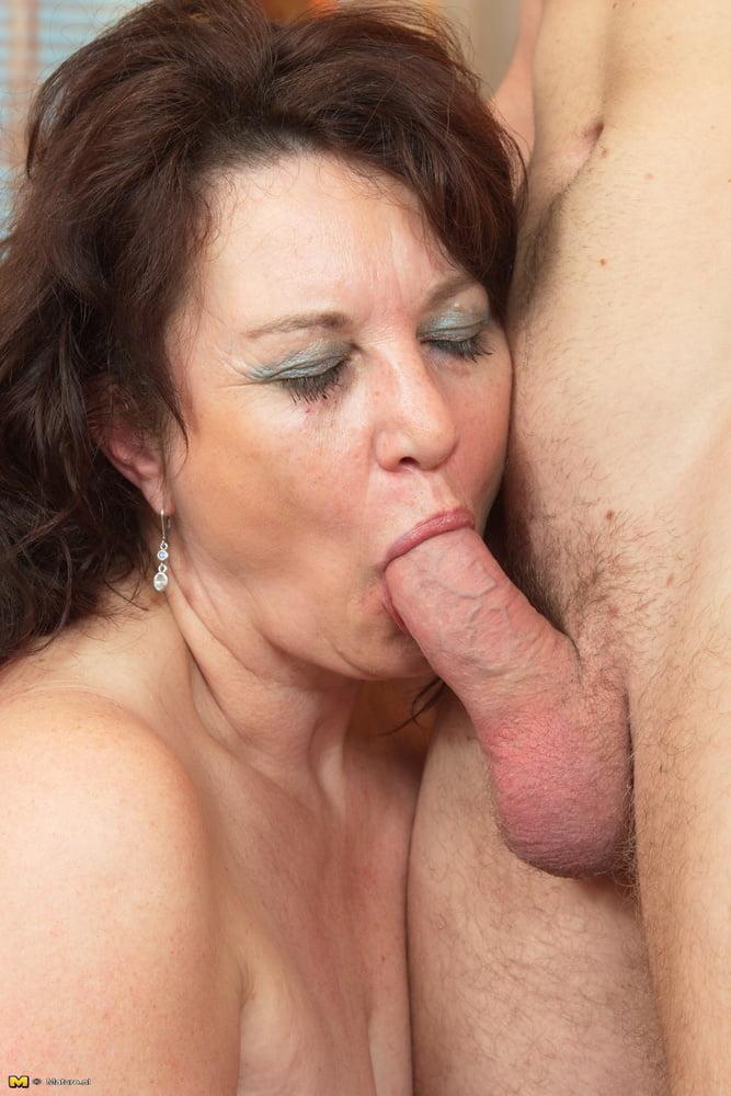 Aged mature mouthful