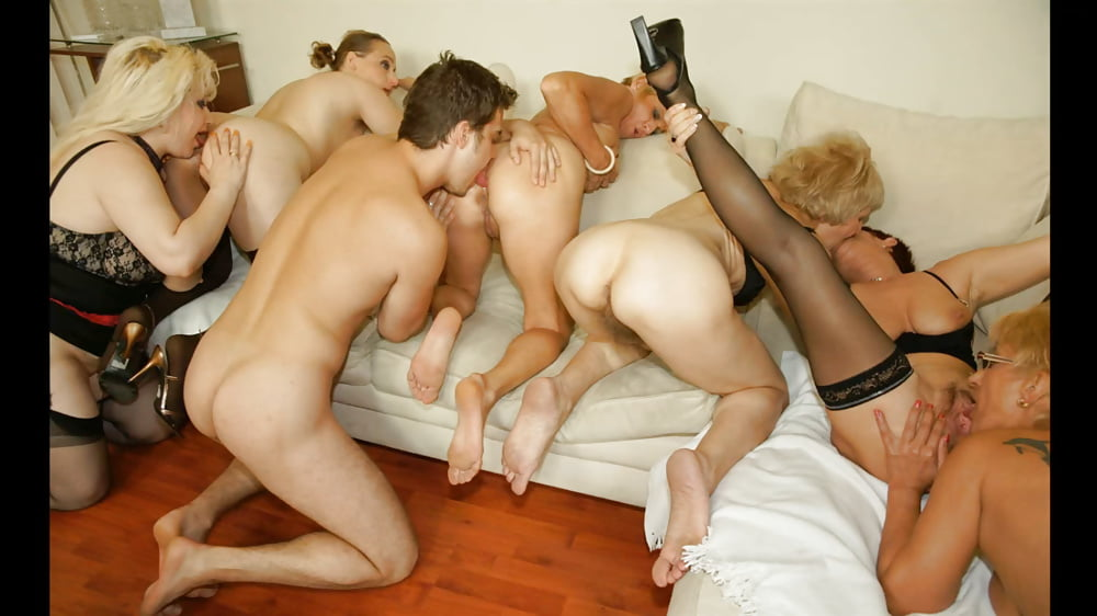 Group Orgy Interracial Mature