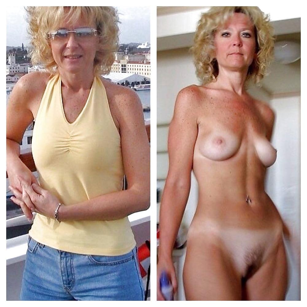 Older women caught naked-7934
