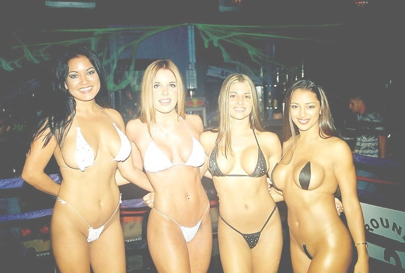 bikini contest Bootleggers
