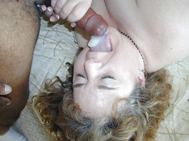 White mature gets banged from some big black cock