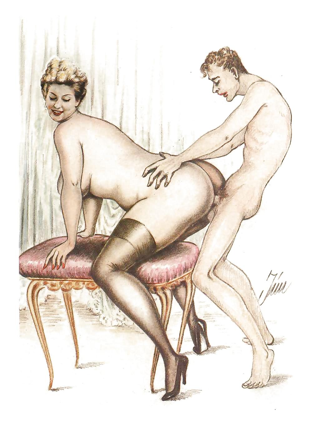 Древних старая эротика рисунки порно актриса фотографий