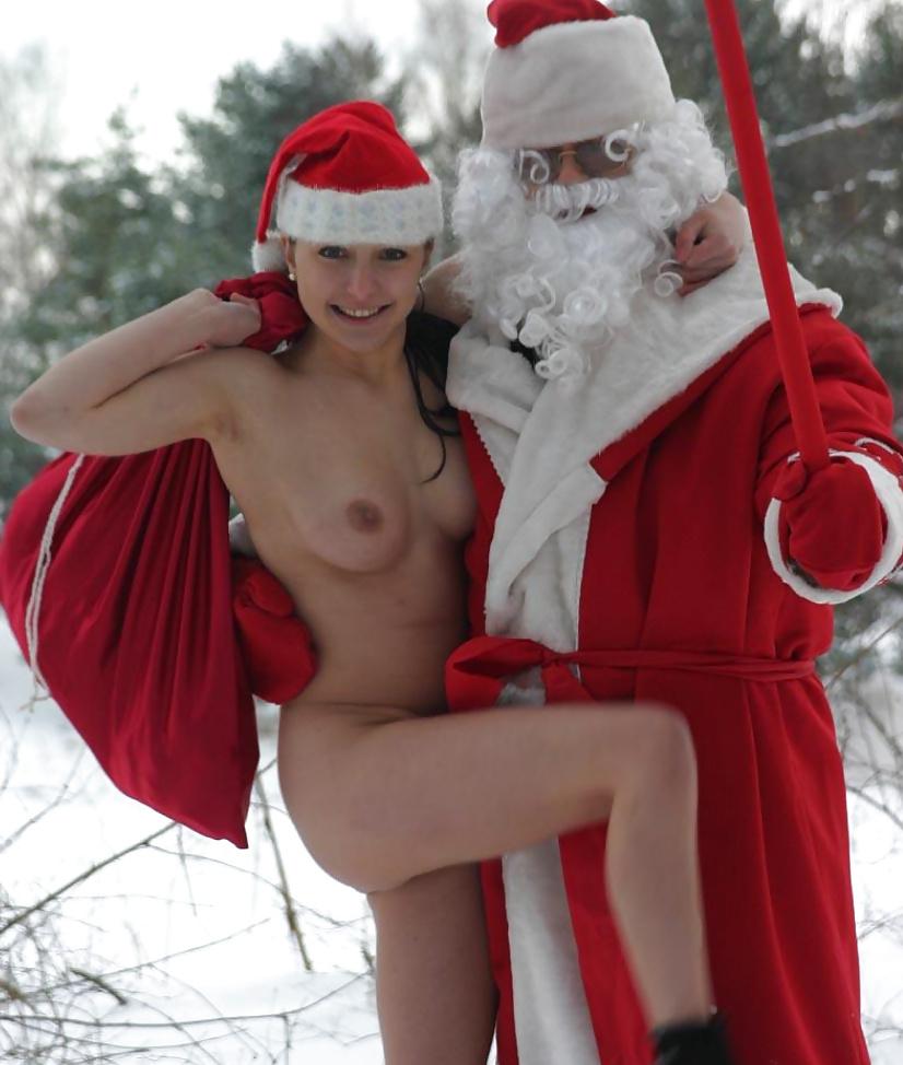 Naked santa men nude
