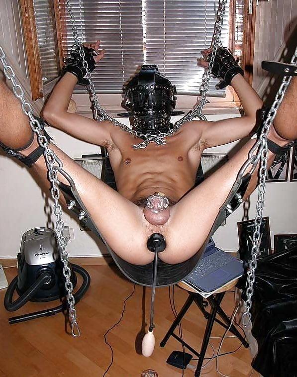 Черный мужик садо мазо применение сексигрушек анальные