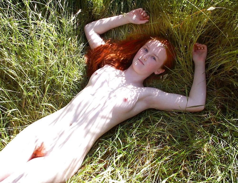 Nude hairy redhead women-4437