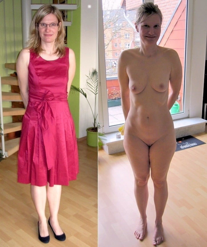 Wife clothed unclothed amateur