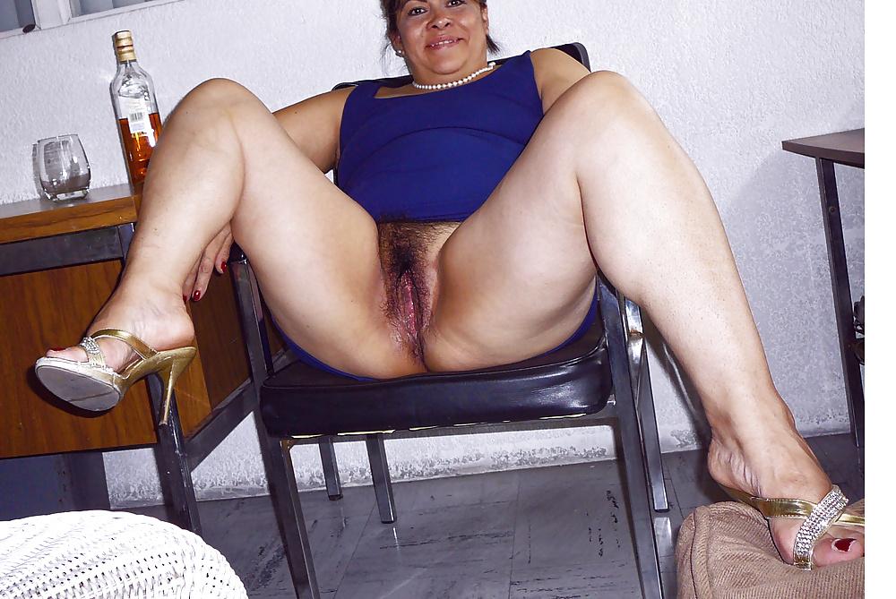 Hispanic mature woman high