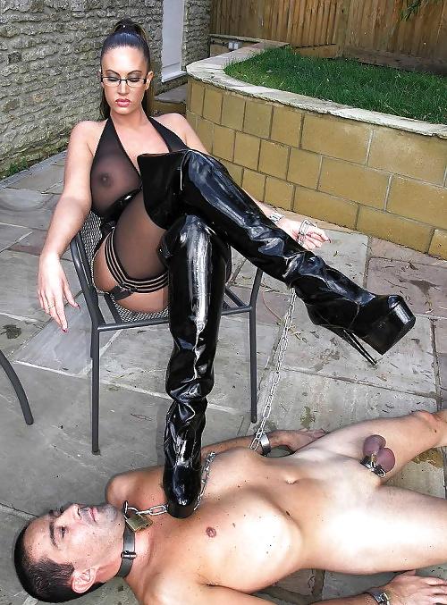 Mistress femdom bdsm pegging gif