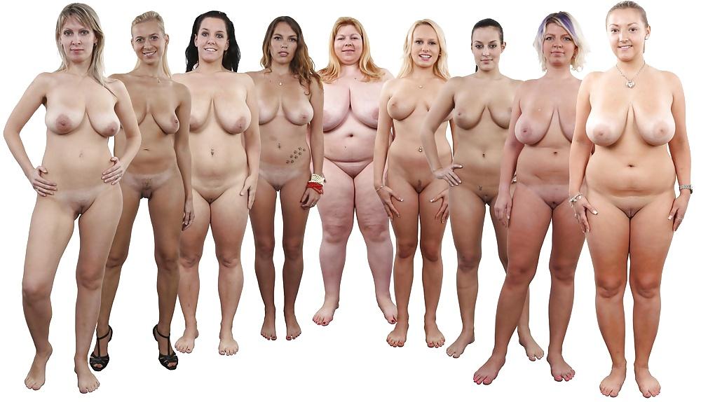 Average woman nude 14