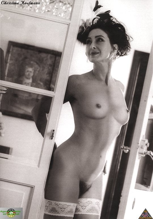 Kaufmann nude christine Naked Christine