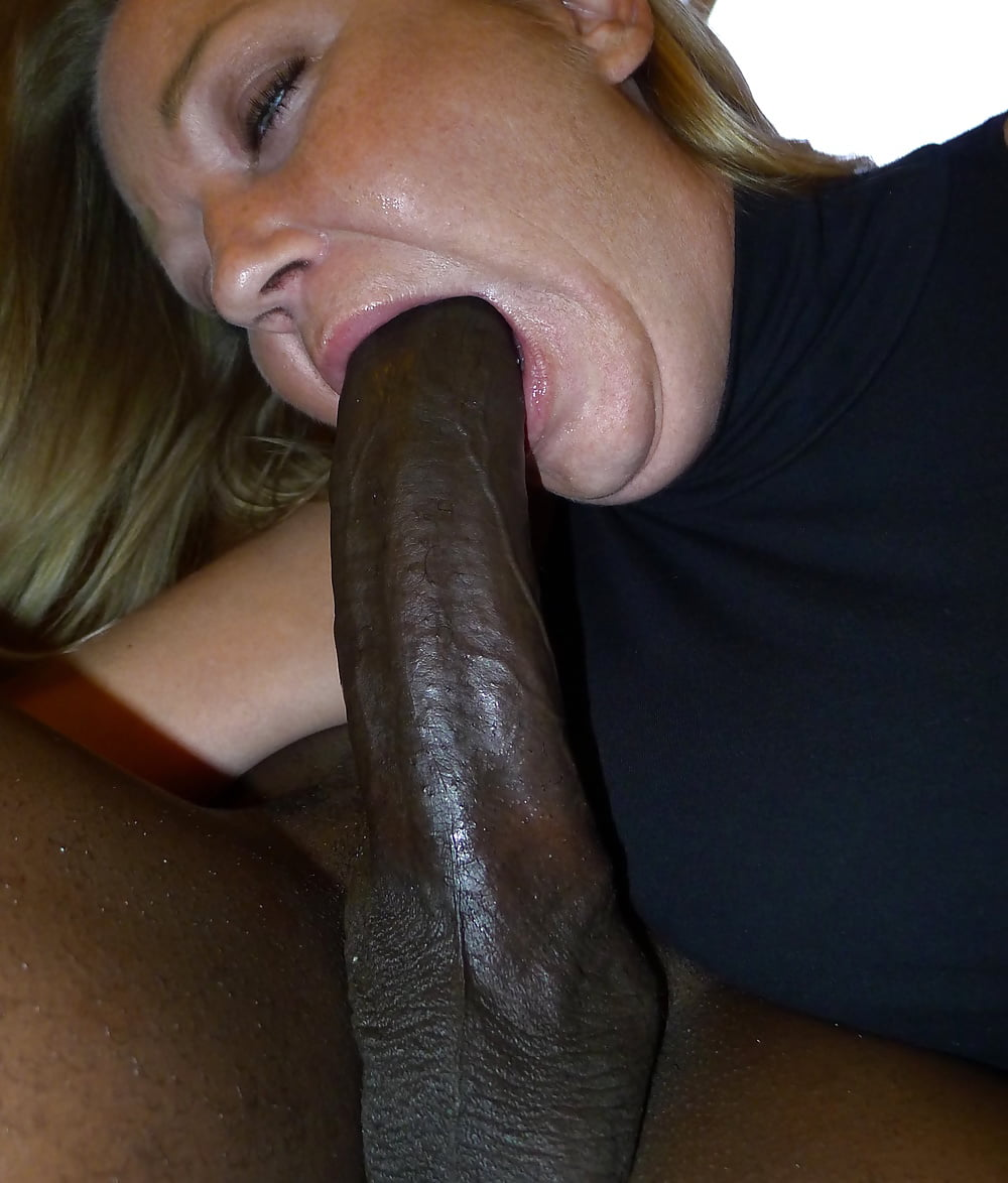 Two giant black cocks explode all over white wife