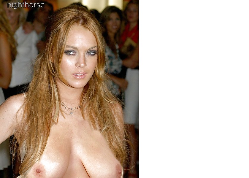 Lohan purple nude preview