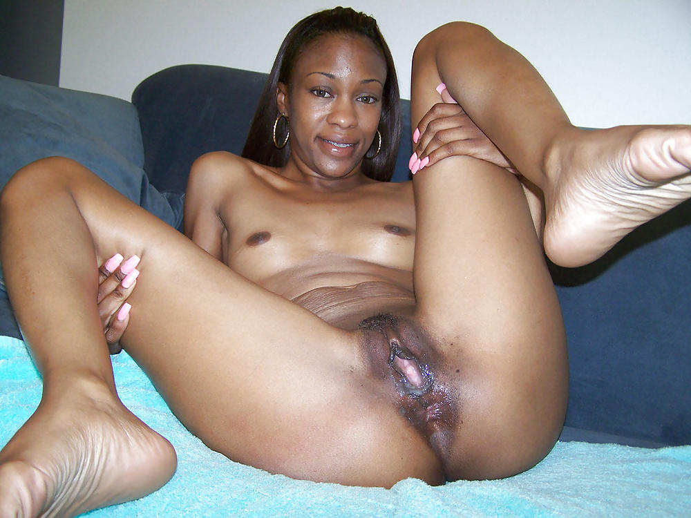 Black spread fuck — 4