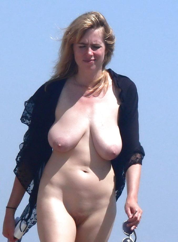 Free big saggy tits topless beach