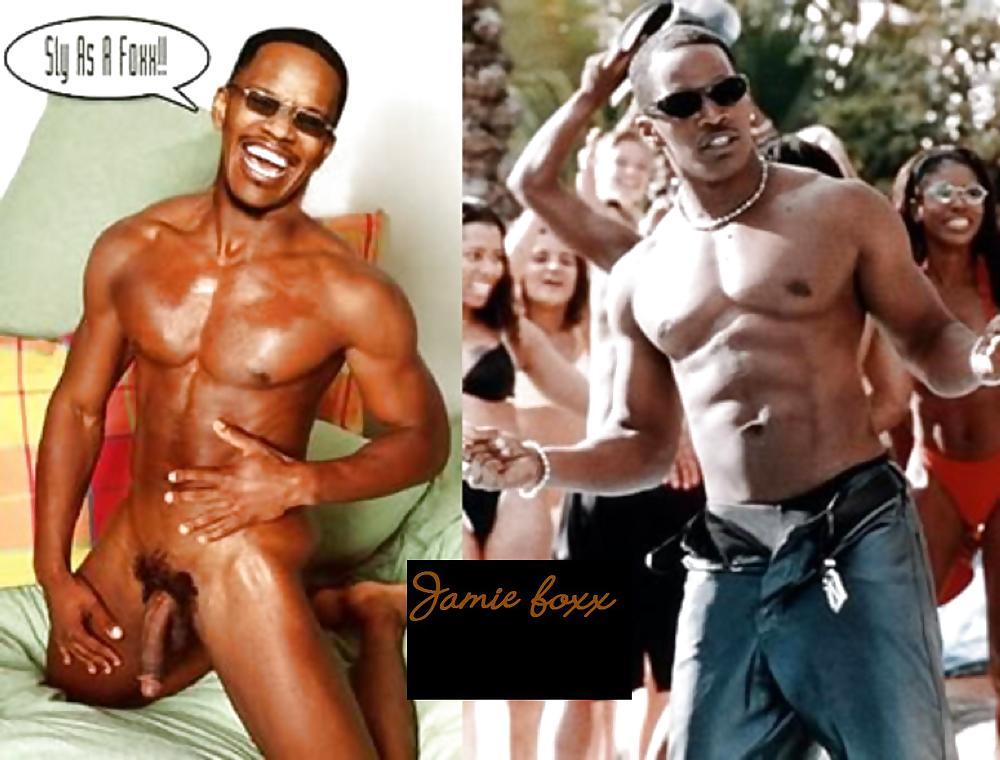 Naked black male celebs