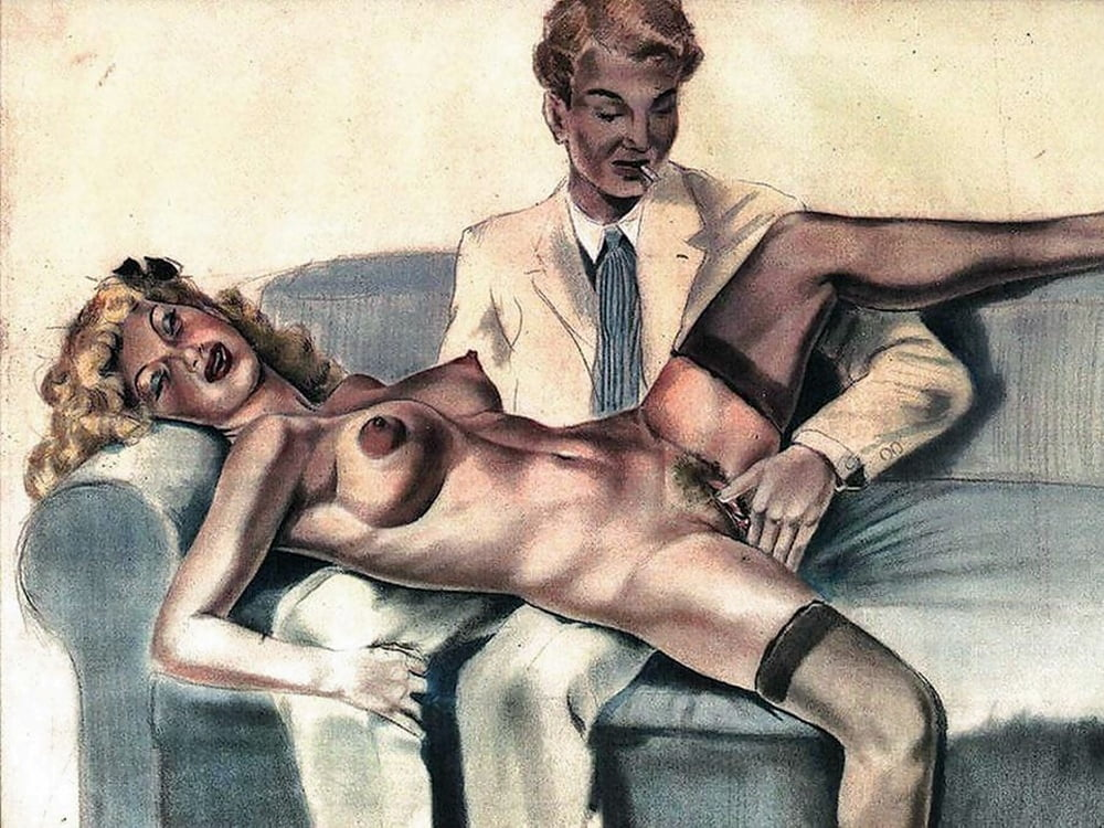 Erotic Works In Retro Style