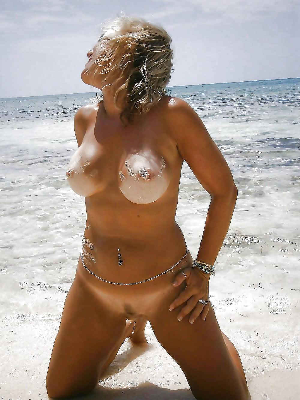 Hot Milf Beach Shoot