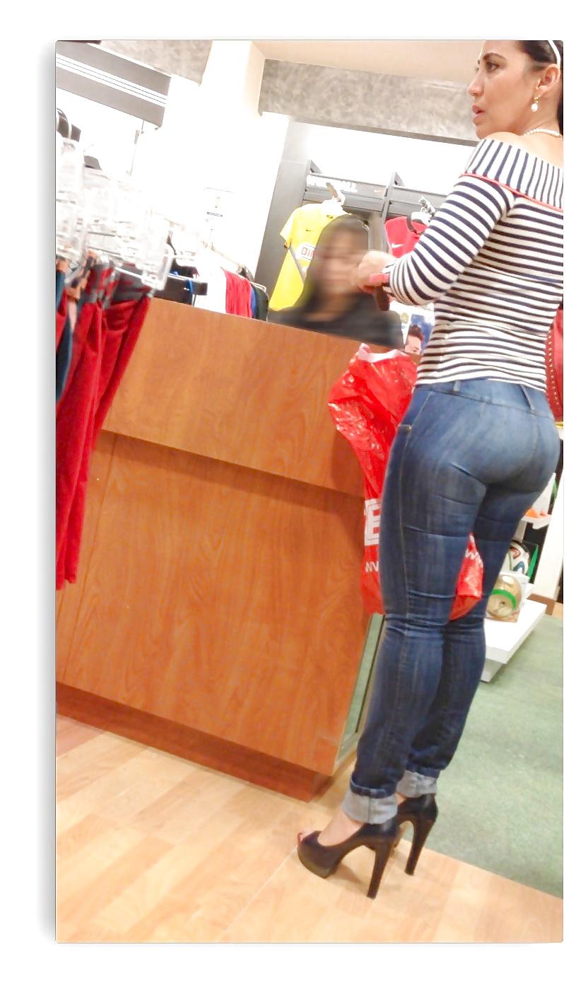 Arrimon chica de tienda - 3 8