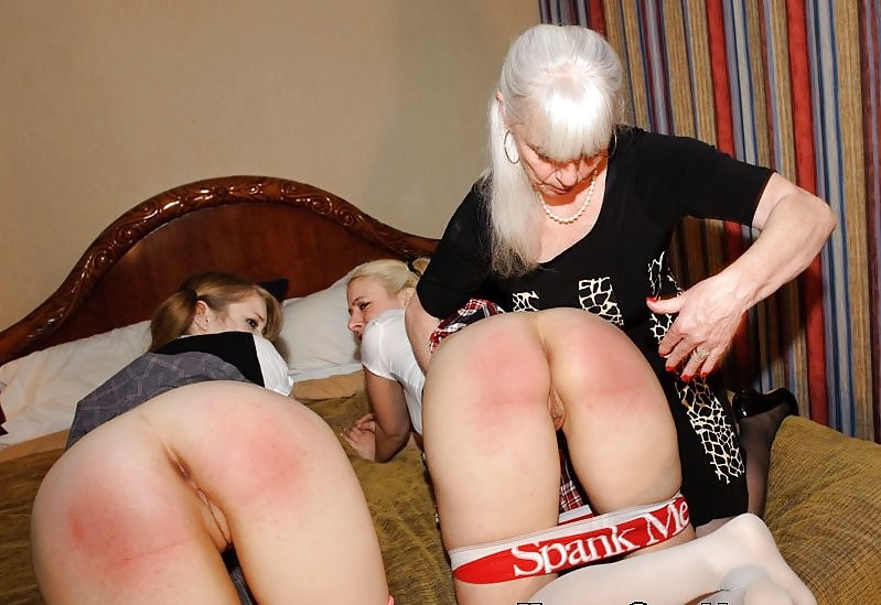Fig and spank my old ass