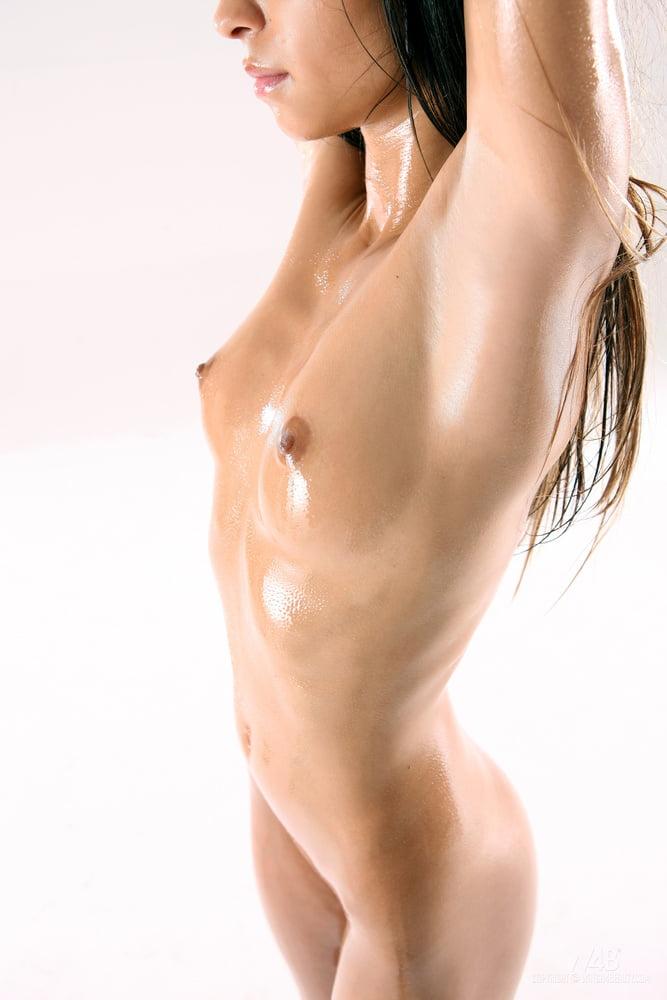 Oiled Up Nika Intporn 1