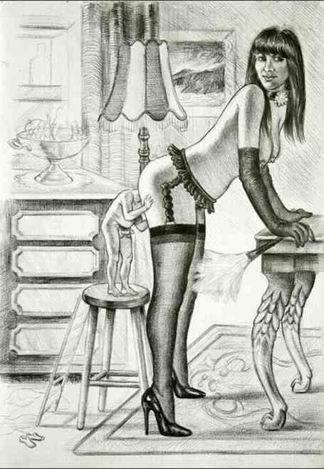эротический рисунки блядей - 14