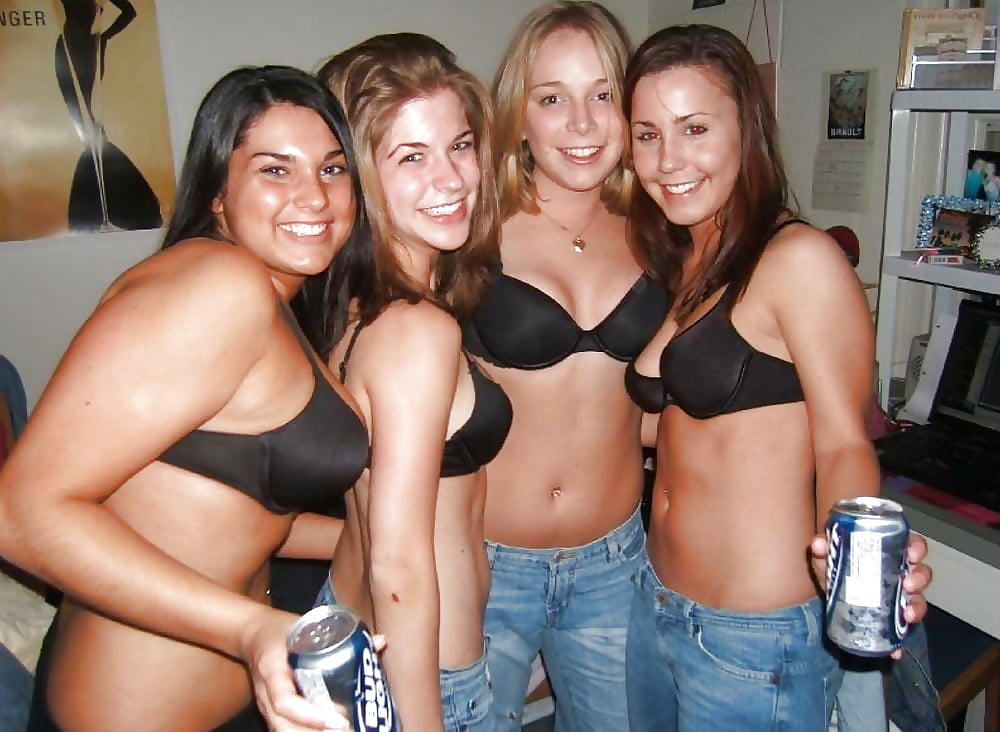 College Party Big Boobs