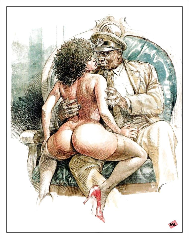 Erotic, porn or hentai nsfw art